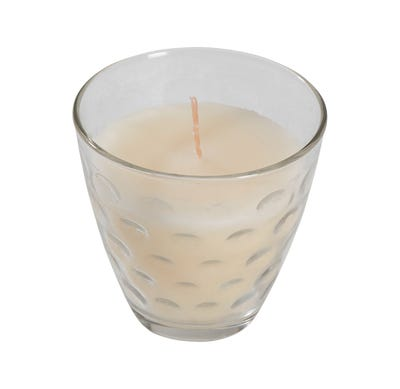 Kerze im dekorativem Glas, Ø ca. 8cm
