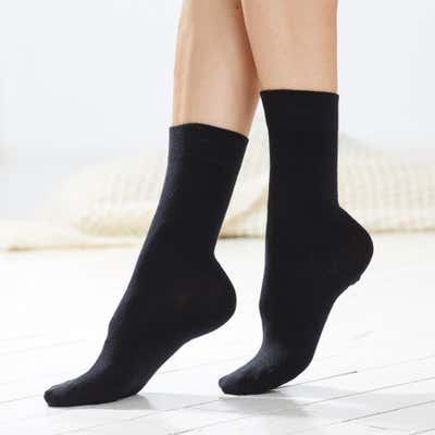 Unisex-Socken mit Komfort-Bund, 3er-Pack