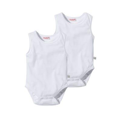 Baby-Body mit breiten Trägern, 2er Pack