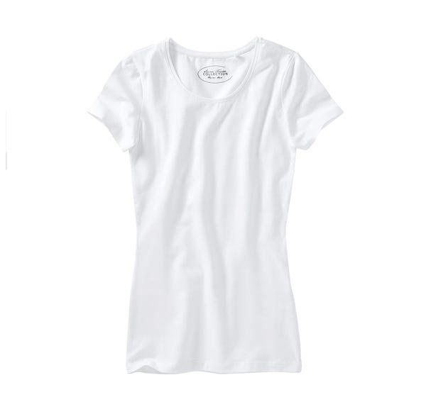 Damen-T-Shirt mit hohem Baumwoll-Anteil