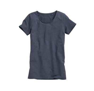 Damen-T-Shirt mit Rundhals-Ausschnitt