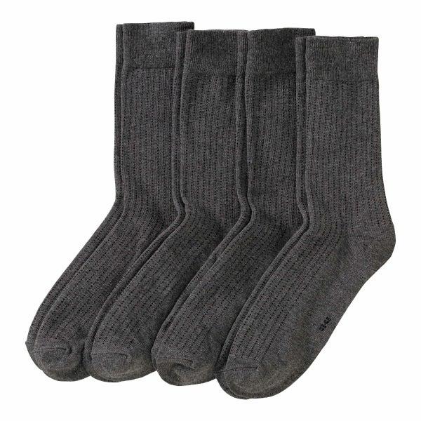 Herren-Socken, 4er-Pack