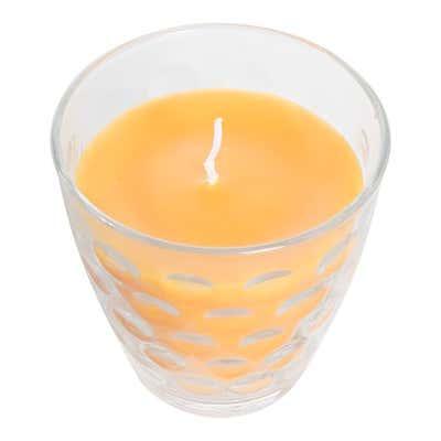 Duftkerze im Glas, ca. 9x9cm