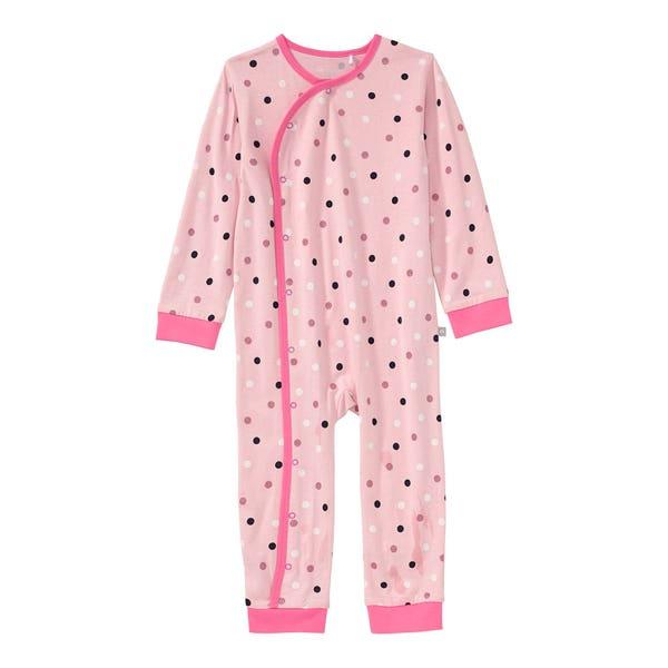 Baby-Mädchen-Schlafanzug aus reiner Baumwolle