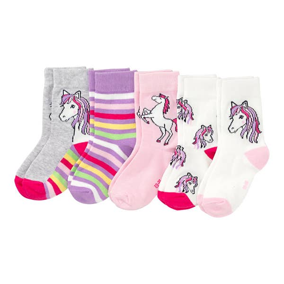Kinder-Socken, 5er-Pack