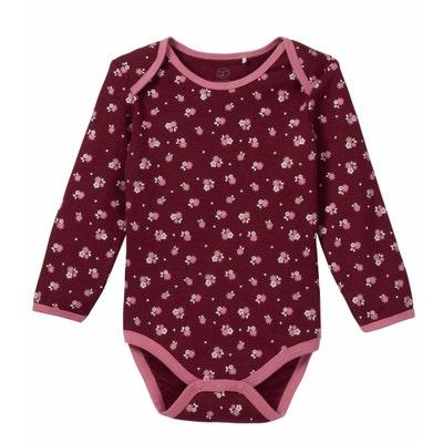 Baby-Mädchen-Body mit Blümchen-Muster