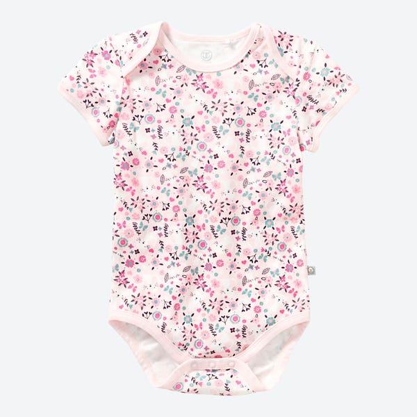 Baby-Mädchen-Body 1/4 Arm