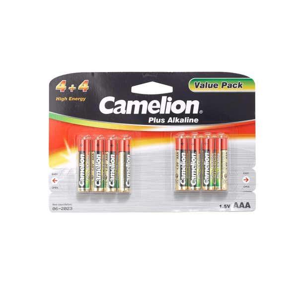 Camelion Batterie Größe AAA, 8er Pack