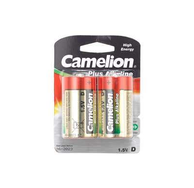 Camelion Batterie Größe LR20, 2er-Pack