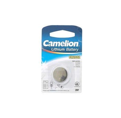 Camelion Batterien, Lithium-Knopfzelle, Größe CR2032