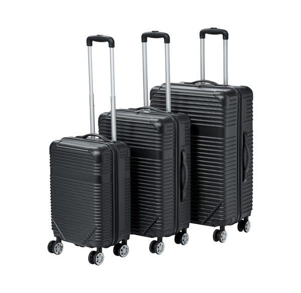 Hartschalen-Trolley-Set, verschiedene Größen, 3-teilig