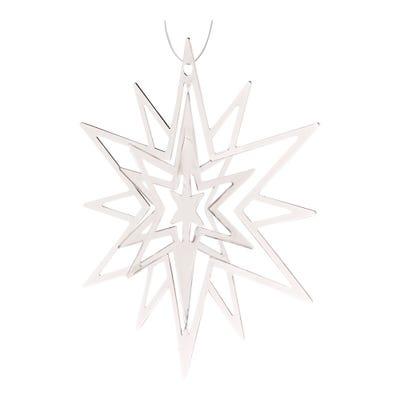 Deko-Stern aus Ornamenten, ca. 8cm