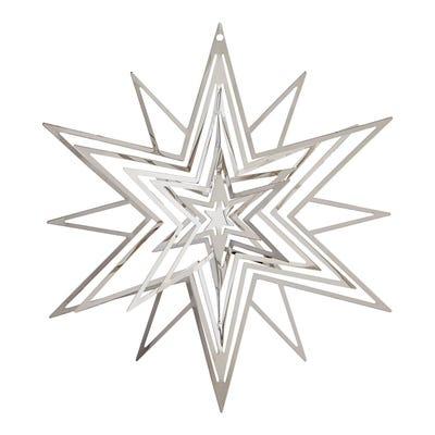 Deko-Stern aus Ornamenten, ca. 14cm