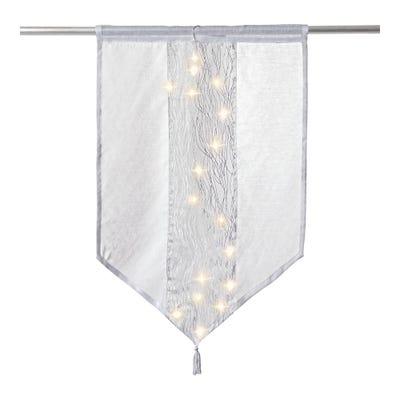 LED-Kurzgardine mit schönem Licht, ca. 60x90cm