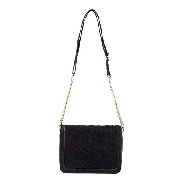 Damen-Handtasche mit eleganten Ziernähten