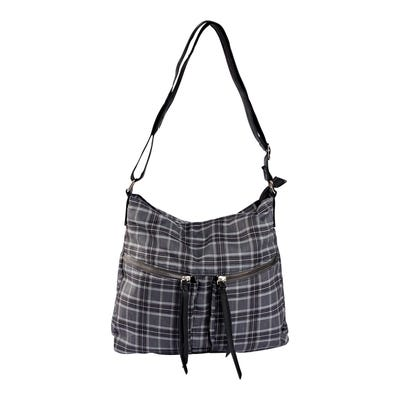 Damen-Handtasche mit 2 Reißverschluss-Taschen