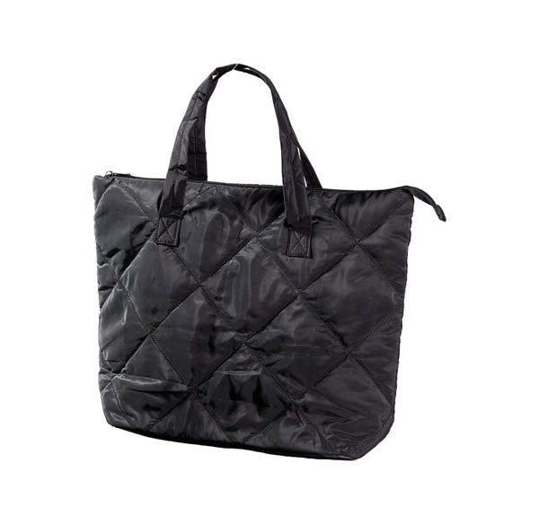 Damen-Handtasche im Stepp-Design, ca. 47x38x15cm