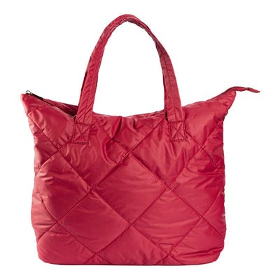 Damen-Handtasche in Stepp-Optik