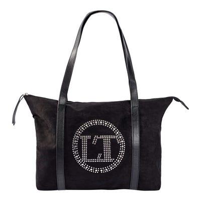 Damen-Handtasche mit Schmucksteinchen