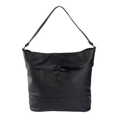 Damen-Handtasche mit Zierband