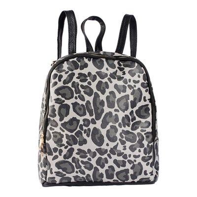 Damen-Rucksack mit Leoparden-Muster