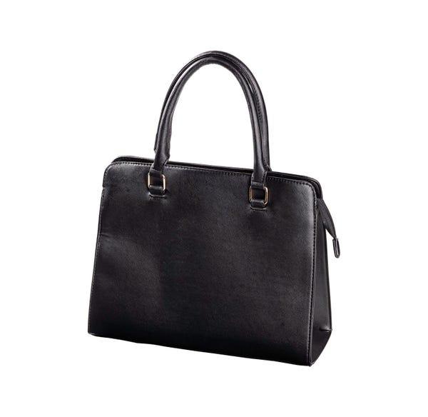 Damen-Handtasche in edlem Kunstleder-Design, ca. 31x25x11cm