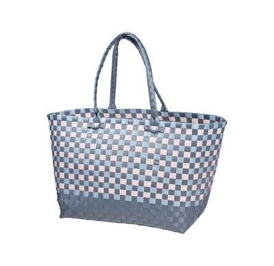 Damen-Freizeittasche im Flecht-Design, ca. 30x60cm
