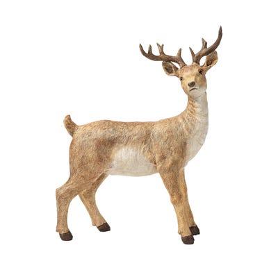 Hirsch in natürlicher Optik, ca. 26x12x33cm