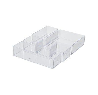 Utensilienbehälter, 6-teilig, ca. 30x22x5cm