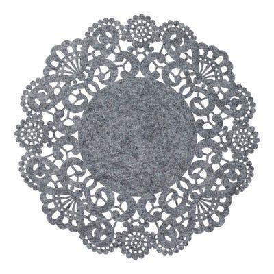 Platz-Set aus Filz, Ø ca. 33cm