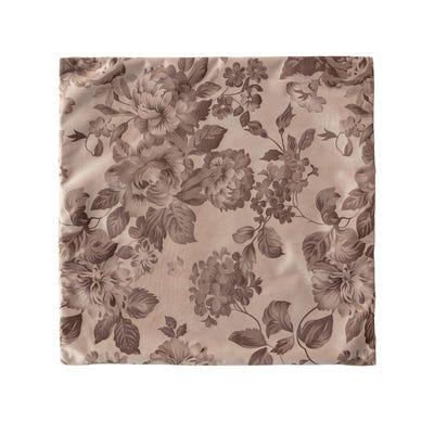 Kissenhülle mit wundervollem Blumenmuster, ca. 40x40cm