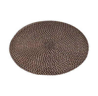 Platzset mit gewebeter Oberfläche, Ø ca. 38cm