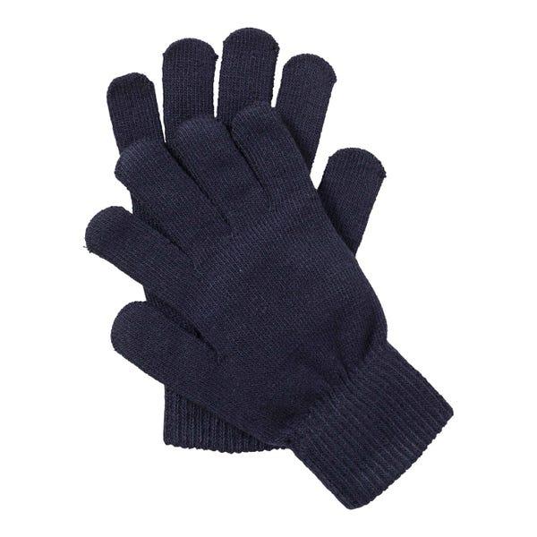 Damen-Handschuhe mit Glitzerfäden, 2er Pack