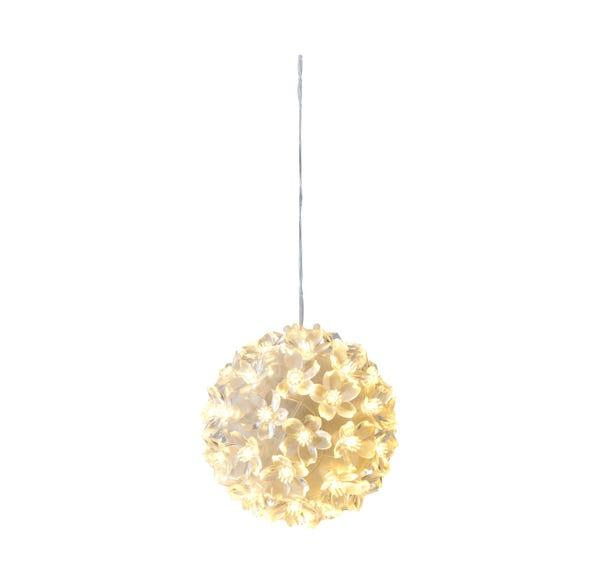 LED-Sakura-Kugel mit 50 LEDs, Ø ca. 11cm
