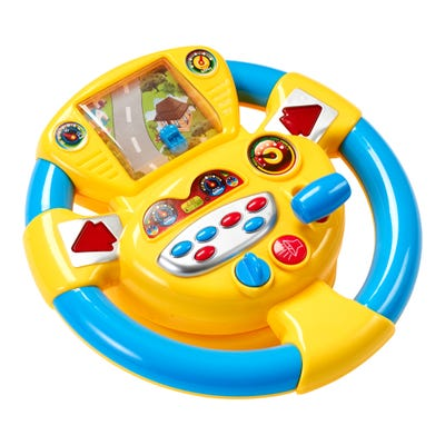 Playfun Lenkrad mit Fahrsimulator, ca. 24x25x10cm