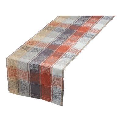 Tischläufer mit Jacquard-Muster, 40x140cm