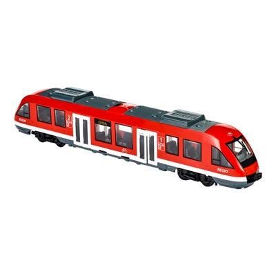 Dickie City-Zug mit vielen Details, ca. 45cm