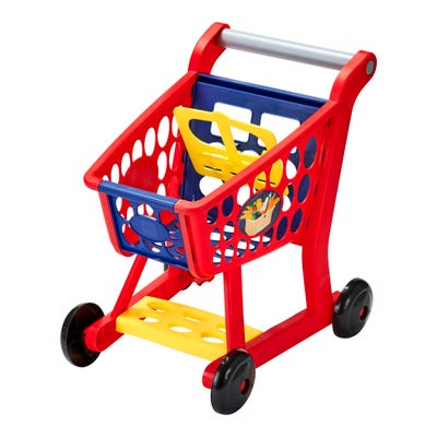 Happy People Einkaufswagen mit viel Zubehör, ca. 32x19x39cm, 13-teilig