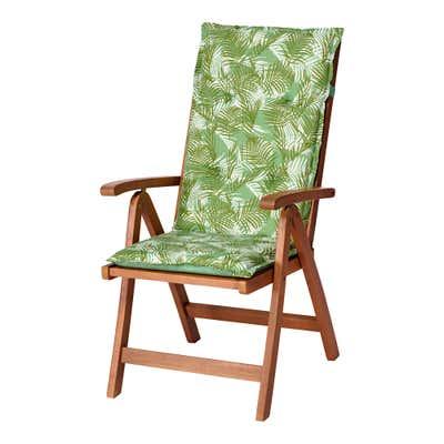 Stuhlauflage für Hochlehner mit Wendeseite, ca. 50x118x6cm