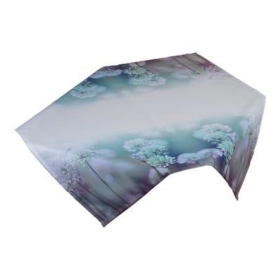 Mitteldecke mit floralem Design, ca. 80x80cm