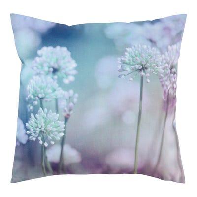 Kissenhülle mit floralem Design, ca. 40x40cm