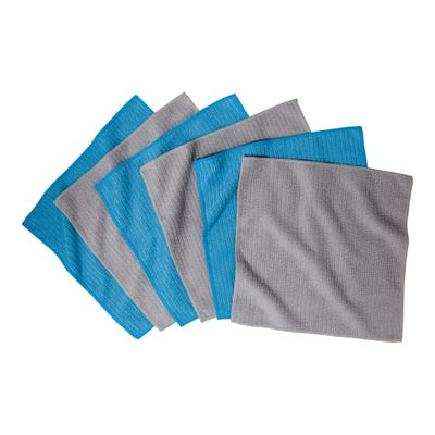 Mikrofaser-Reinigungstuch, ca. 30x30cm, 5er Pack