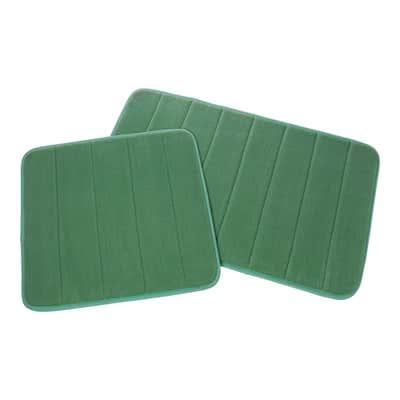 Teppich in weicher Qualität, 2er Pack