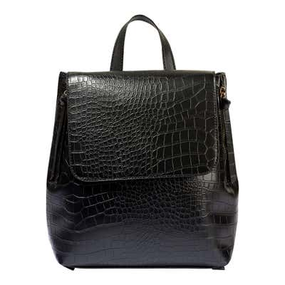 Damen-Rucksack in Leder-Optik, ca. 31x28x12cm