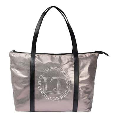 Damen-Handtasche mit schickem Logo, ca. 43x29x13cm