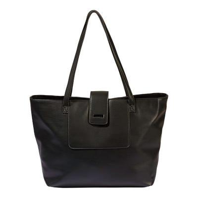 Damen-Handtasche in Leder-Optik, ca. 46x28x14cm