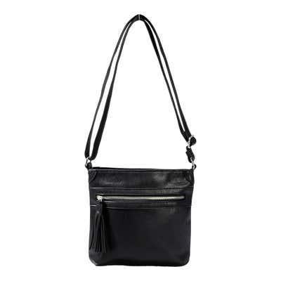 Damen-Handtasche mit Zierquaste