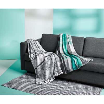 Teppich aus recycelter Baumwolle, ca. 70x140cm