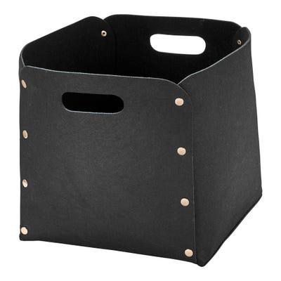 Filz-Korb in beliebtem Design, ca. 30x30x30cm