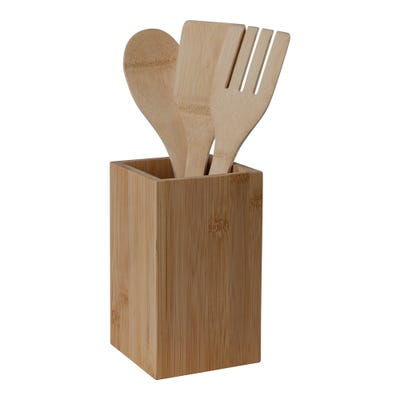 Bambus-Küchenhelfer-Set, 4-teilig